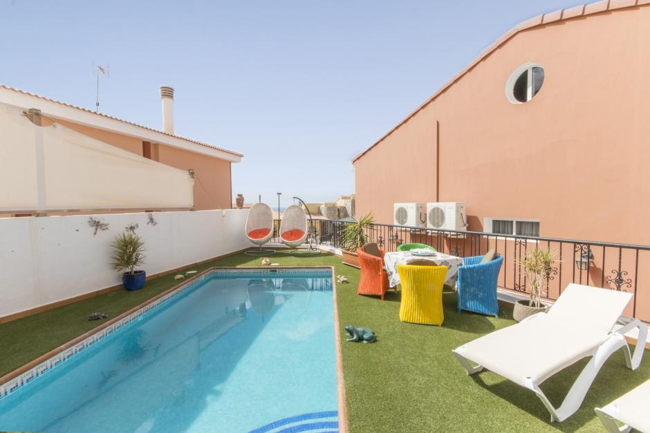 Sea View Villa In Arguinenguin With 3 Bedrooms
